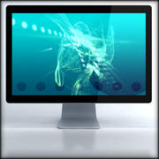 LED Cinema Display 24 inch 3d model
