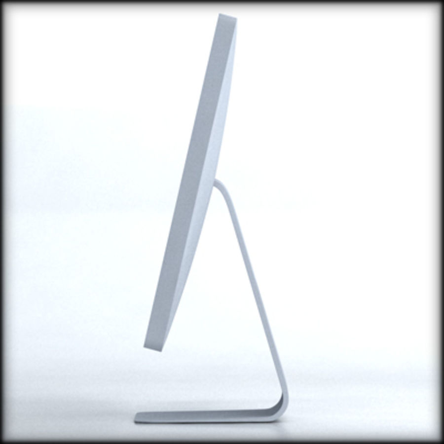 LED Cinema Display 24 inch royalty-free 3d model - Preview no. 4