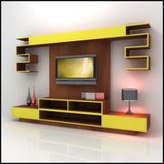 TV /ウォールユニットModern Design X_10 3d model