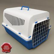 애완 동물 수송 상자 3d model