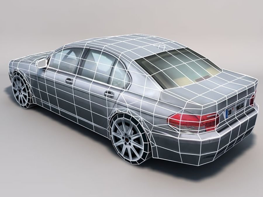 Car 02 royalty-free 3d model - Preview no. 3