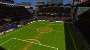 Estadio de fútbol modelo 3d