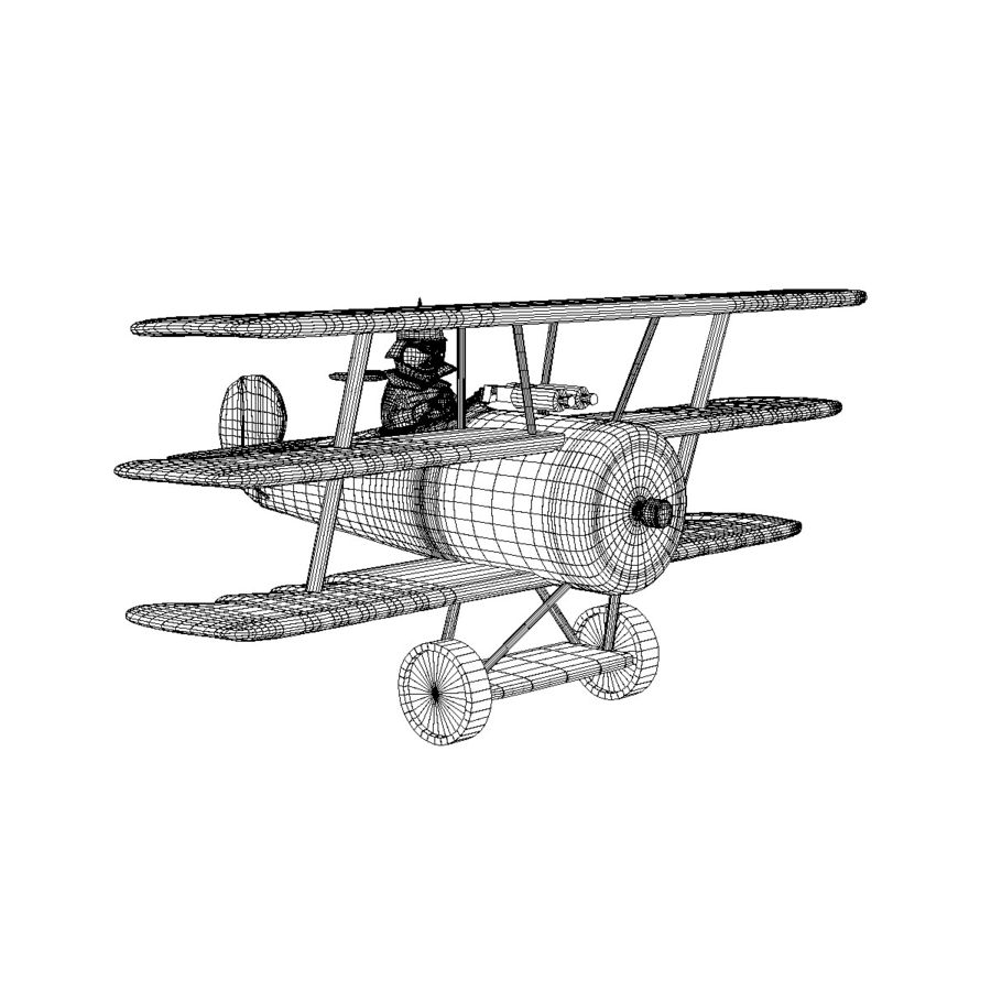 Red Baron royalty-free 3d model - Preview no. 5