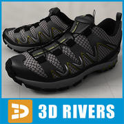 Athletic shoes 03 by 3DRivers 3d model