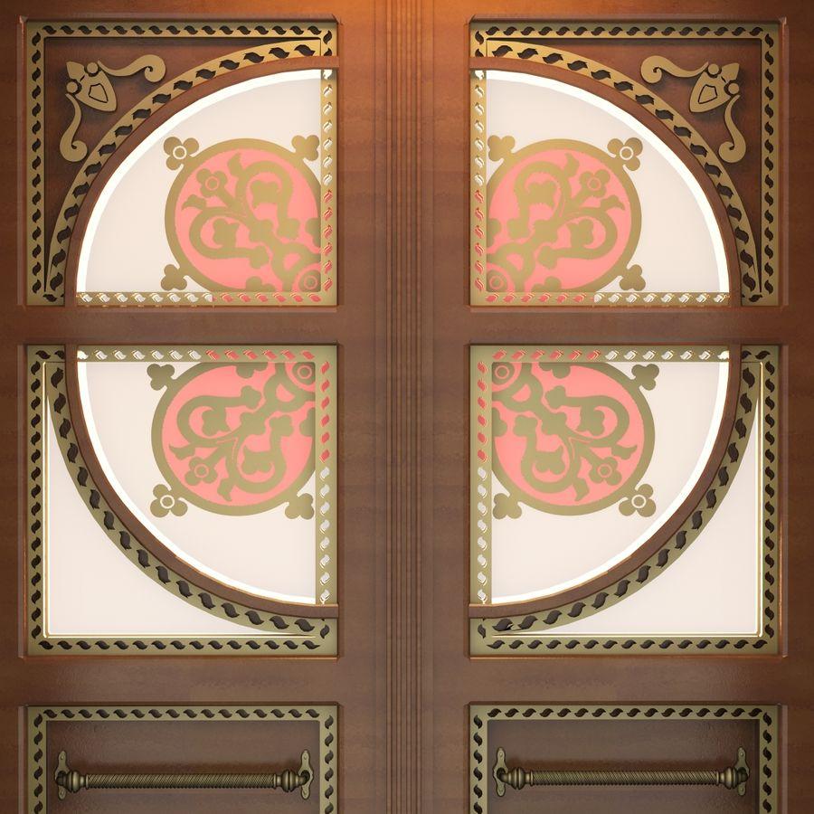 Front Door royalty-free 3d model - Preview no. 6