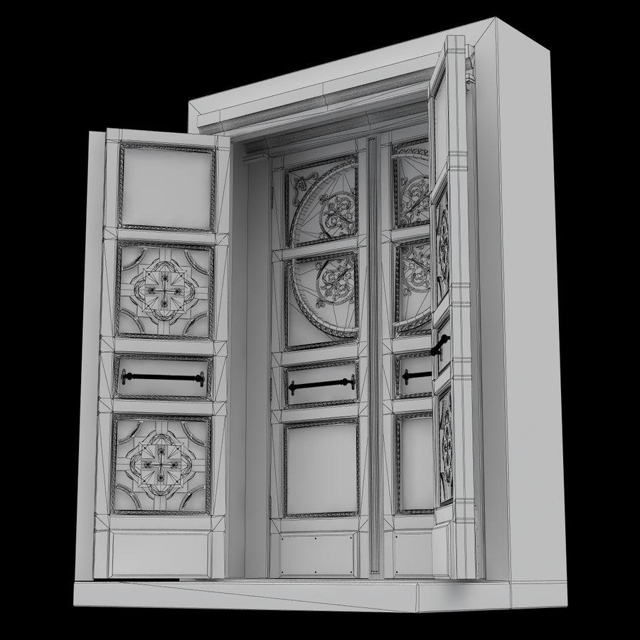 Front Door royalty-free 3d model - Preview no. 9