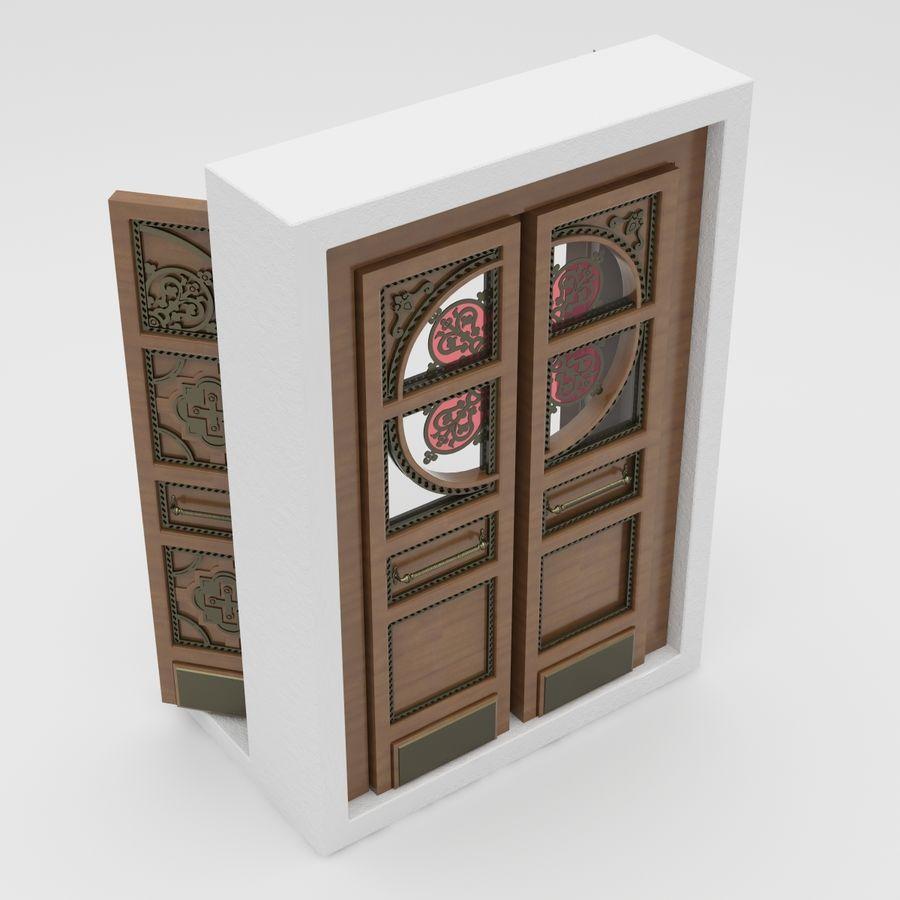 Front Door royalty-free 3d model - Preview no. 5