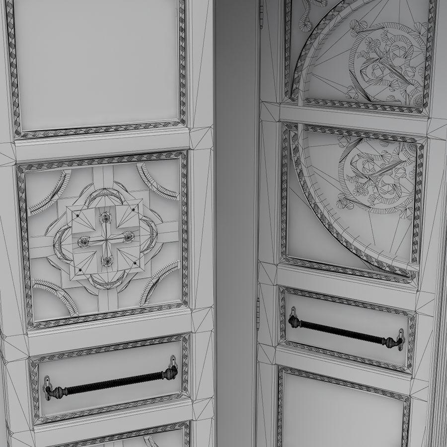 Front Door royalty-free 3d model - Preview no. 8