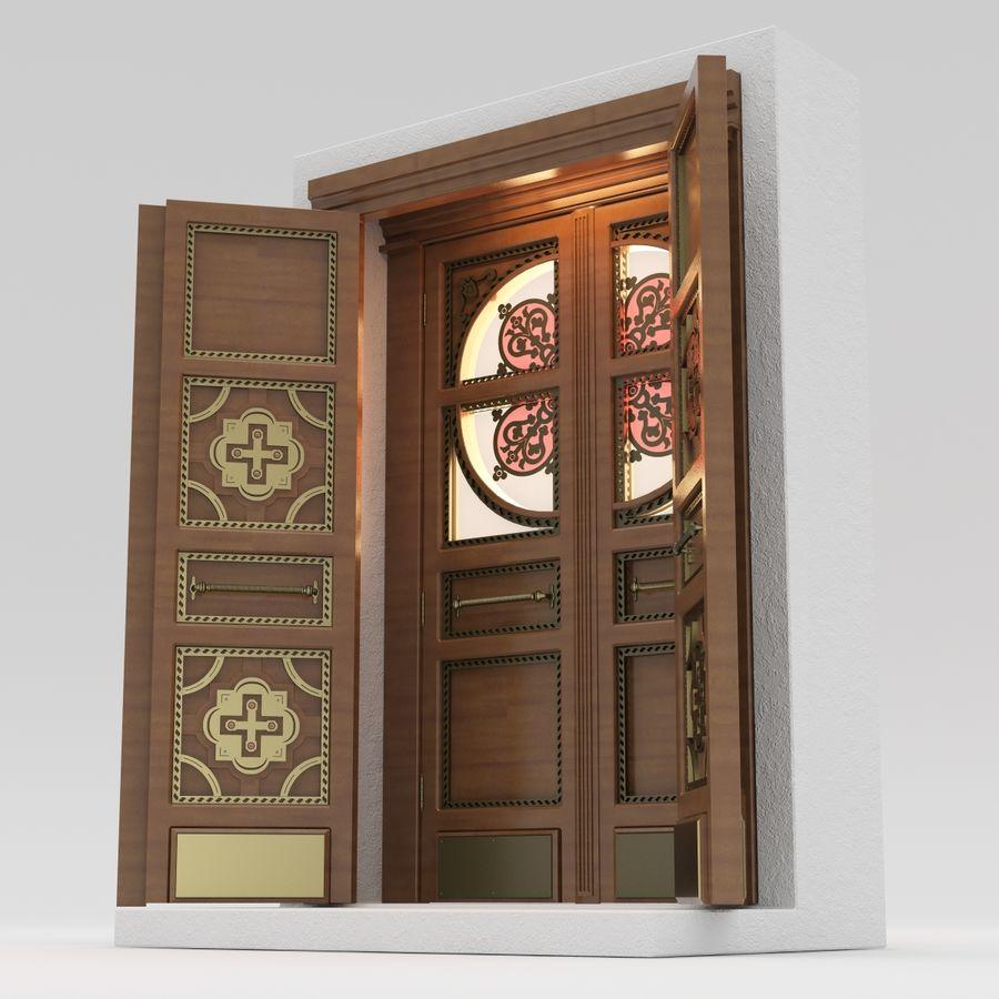 Front Door royalty-free 3d model - Preview no. 4