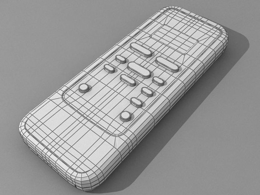 controle royalty-free 3d model - Preview no. 6