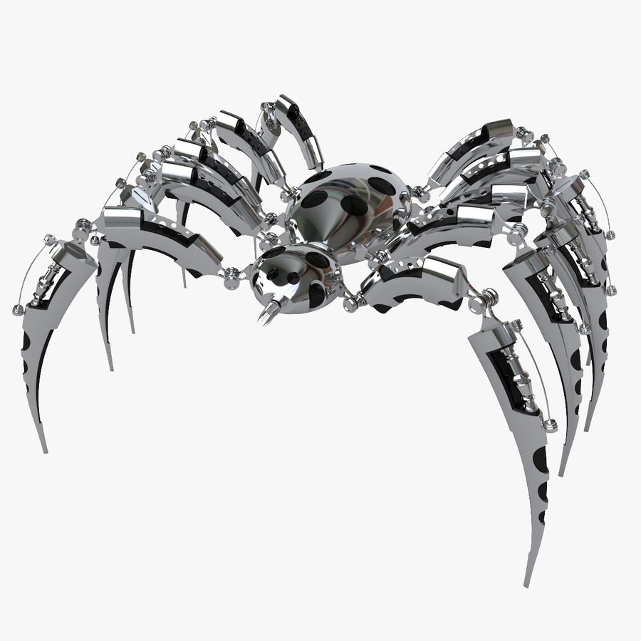 Robot Spider royalty-free 3d model - Preview no. 1