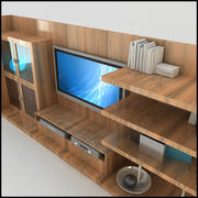 TV /ウォールユニットModern Design X_18 3d model