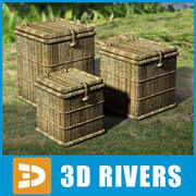 Cane boxes by 3DRivers 3d model