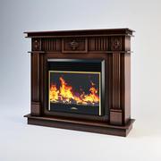 暖炉 3d model