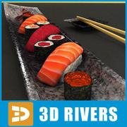 Set de Sushi 02 de 3DRivers 3d model