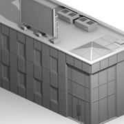 Prédio comercial 3d model