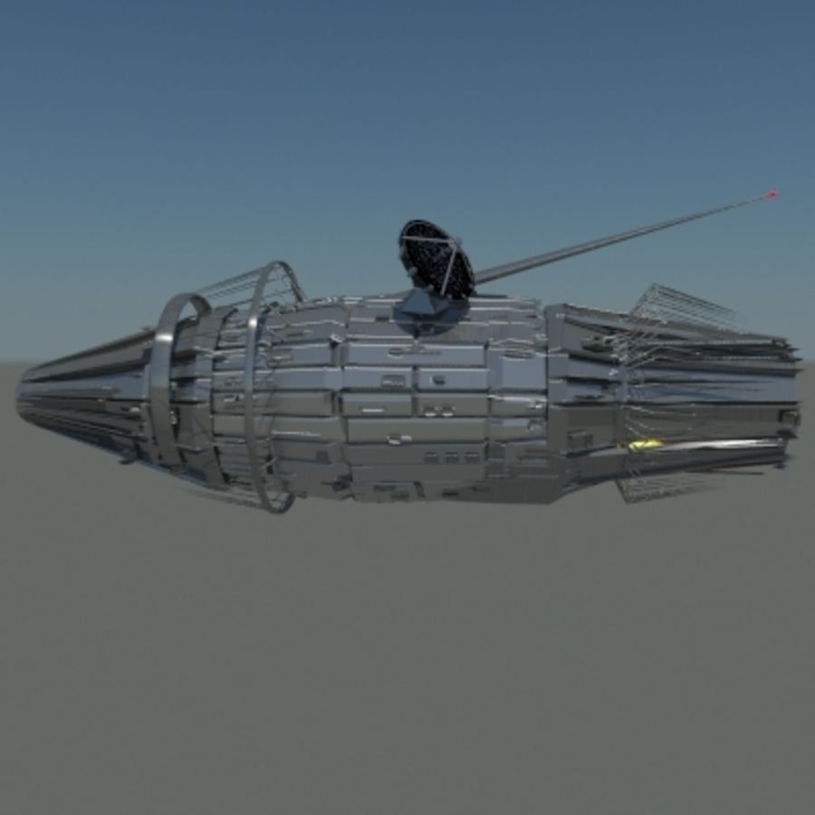 Space Probe 001.zip royalty-free 3d model - Preview no. 4