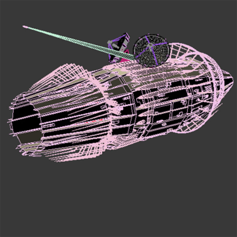 Space Probe 001.zip royalty-free 3d model - Preview no. 9