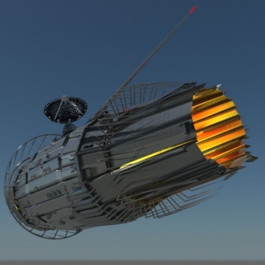 Space Probe 001.zip royalty-free 3d model - Preview no. 5