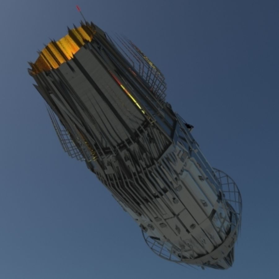 Space Probe 001.zip royalty-free 3d model - Preview no. 6
