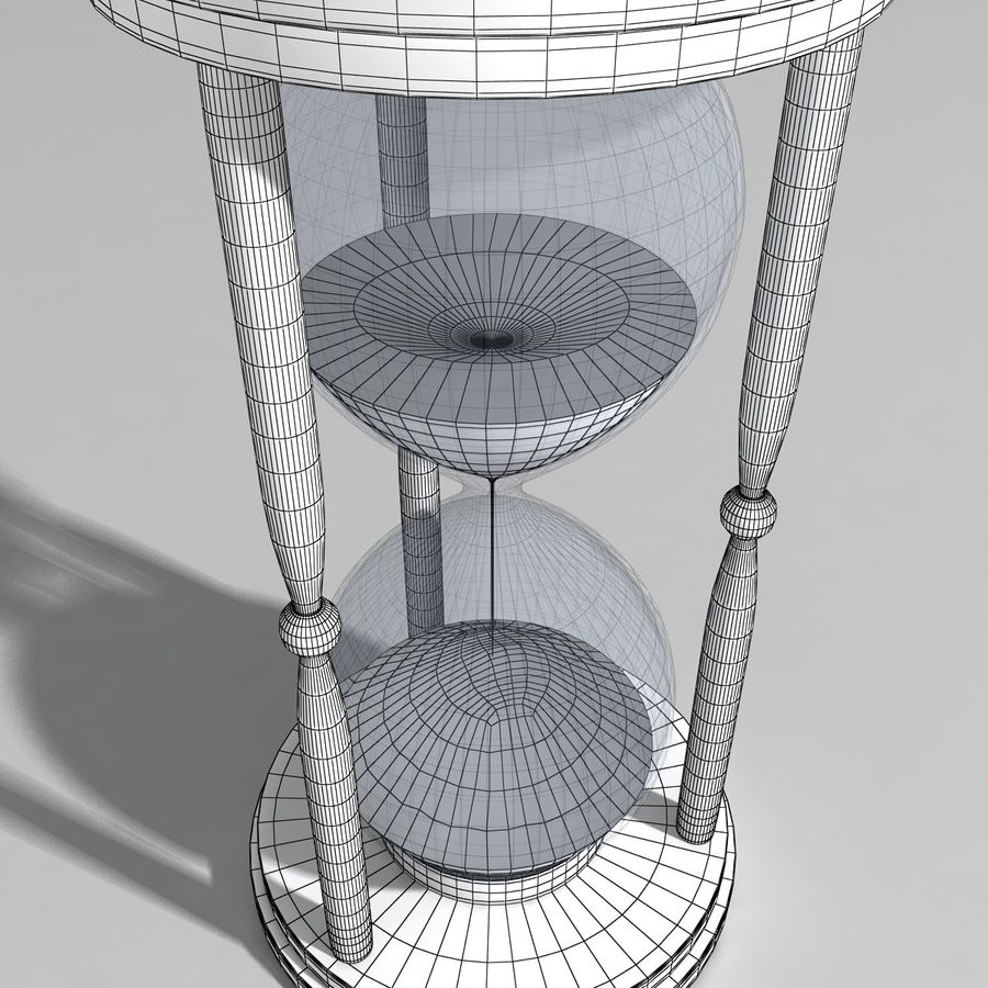 Hourglass royalty-free 3d model - Preview no. 7