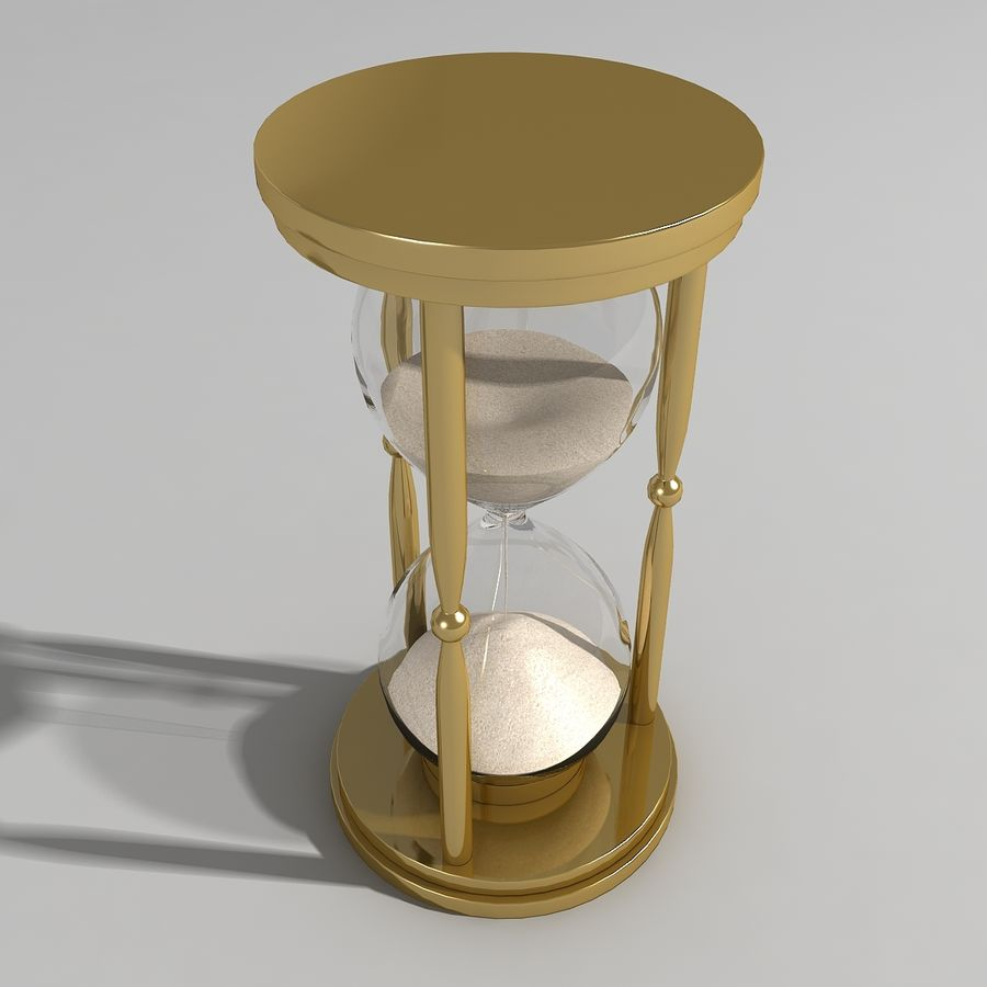 Hourglass royalty-free 3d model - Preview no. 4