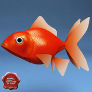 Akvaryum balığı 3d model