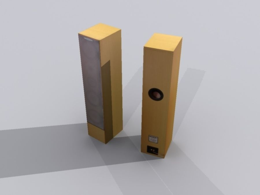 speaker.max royalty-free 3d model - Preview no. 2