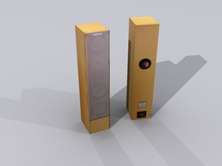 speaker.max royalty-free 3d model - Preview no. 1