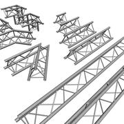 truss rigging steelwork Staging 3d model