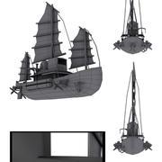 Nave aerea 3d model