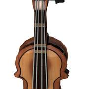 violino c4d 3d model