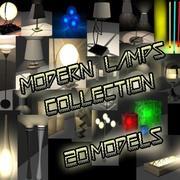 램프 수집 3d model