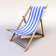 chair_Beach 3d model
