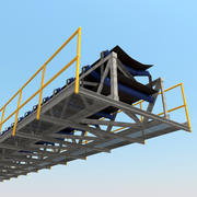 Conveyor Section 3d model