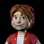 Kid 3d model