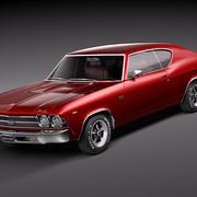 Chevrolet Chevelle 1969 3d model