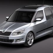 Skoda Roomster 2011 3d model
