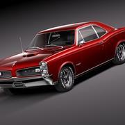 Pontiac GTO 1966 3d model