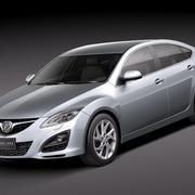 Mazda 6 sedan 2011 3d model