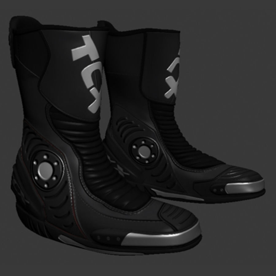 Combat Boot royalty-free 3d model - Preview no. 1