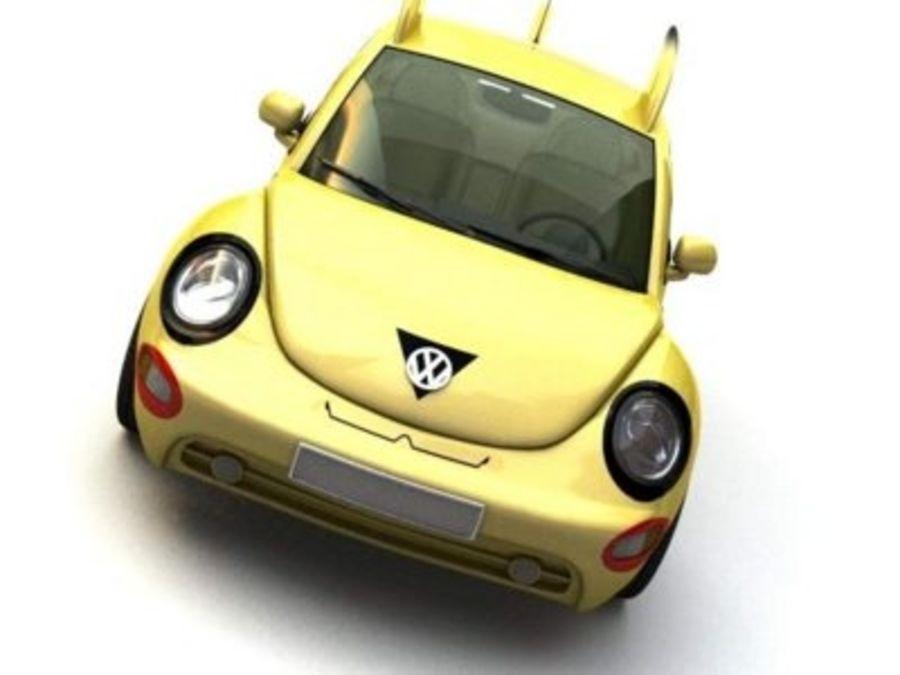 Volkswagen Pokemon royalty-free 3d model - Preview no. 5