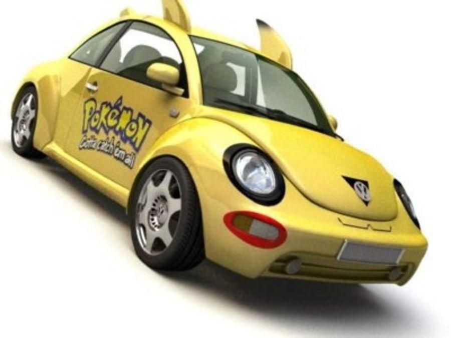 Volkswagen Pokemon royalty-free 3d model - Preview no. 2