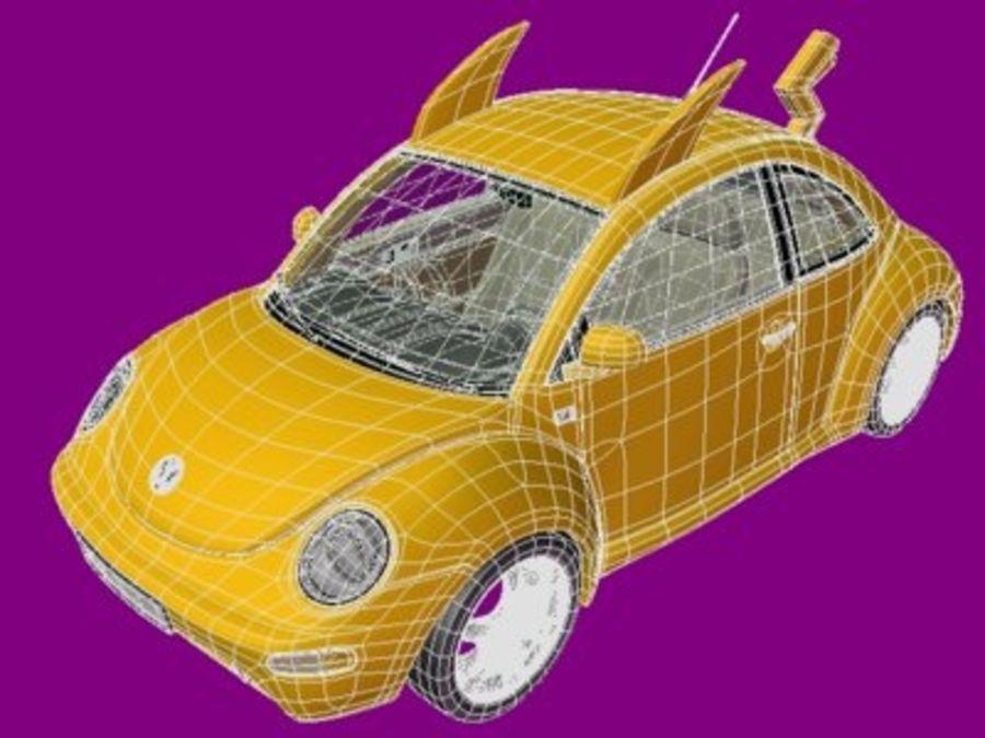 Volkswagen Pokemon royalty-free 3d model - Preview no. 7