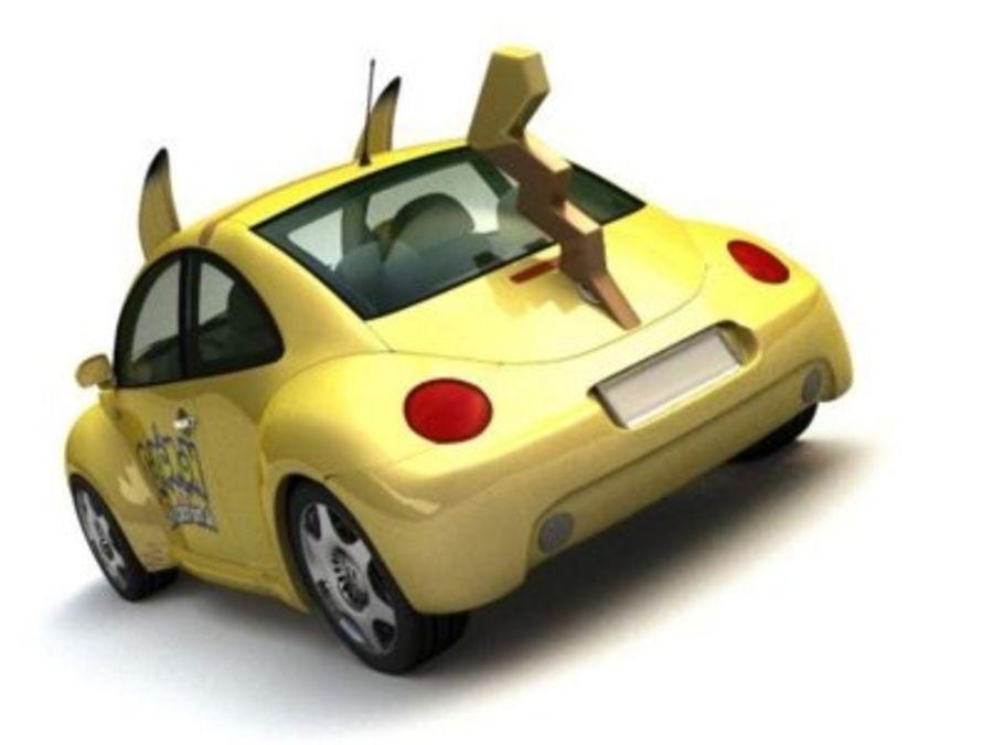 Volkswagen Pokemon royalty-free 3d model - Preview no. 3