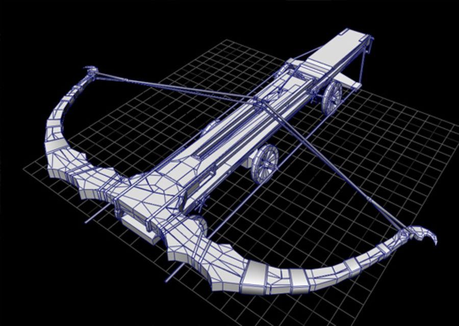Mega-Armbrust royalty-free 3d model - Preview no. 3