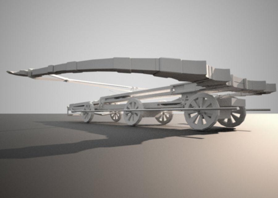 Mega-Armbrust royalty-free 3d model - Preview no. 9
