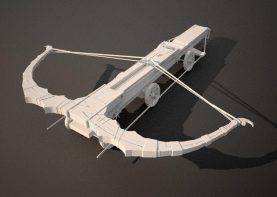 Mega-Armbrust royalty-free 3d model - Preview no. 1