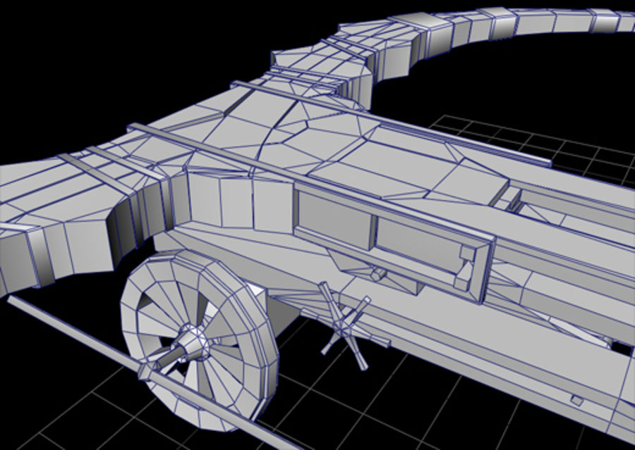 Mega-Armbrust royalty-free 3d model - Preview no. 2