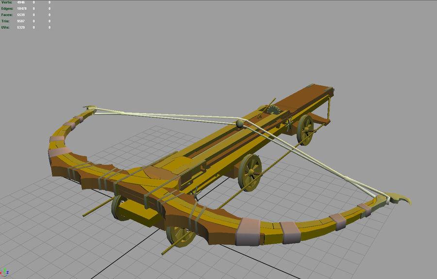 Mega-Armbrust royalty-free 3d model - Preview no. 5